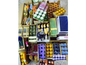 Special items high-quality candles  tapers / pyramid candles / tea lights / pillar cand