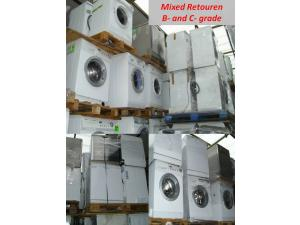 Special offer: white goods, whashing machines and dishwashers, B- and C- grade,