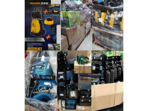 Special item discount returns electric tools and lawn mowers