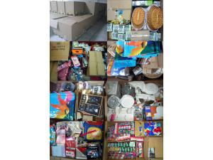 Mix pallets Paper goods / Decoration / Gift items / Candles / Household / Stationery