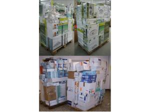 Lamps / luminaires - mixed pallets *A / B stock*
